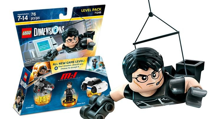 LEGO ®  Dimensions 71248  Mission Impossible Level Pack