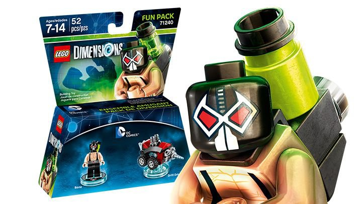 LEGO ® Dimensions 71240  Bane Fun Pack
