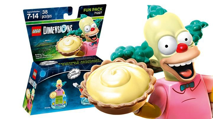 LEGO ® Dimensions  71227 Krusty Fun Pack