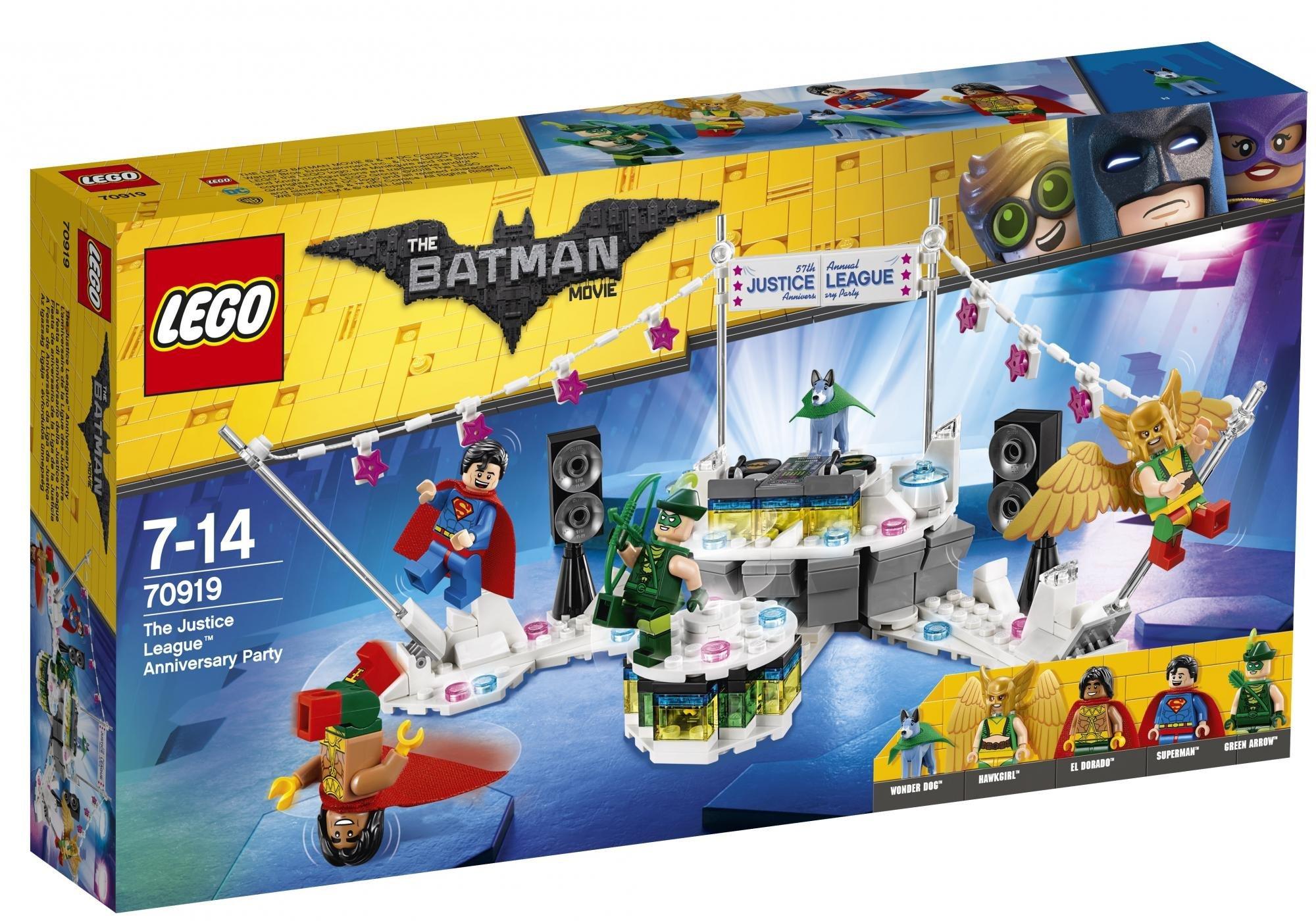 LEGO ® Batman Movie 70919 Výroční oslava Ligy spravedlivých