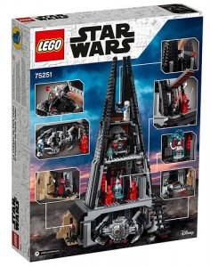 LEGO Star Wars 75251 Hrad Dartha Vadera