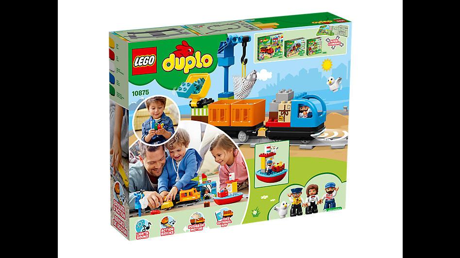 LEGO DUPLO® Town 10875 Nákladní vlak