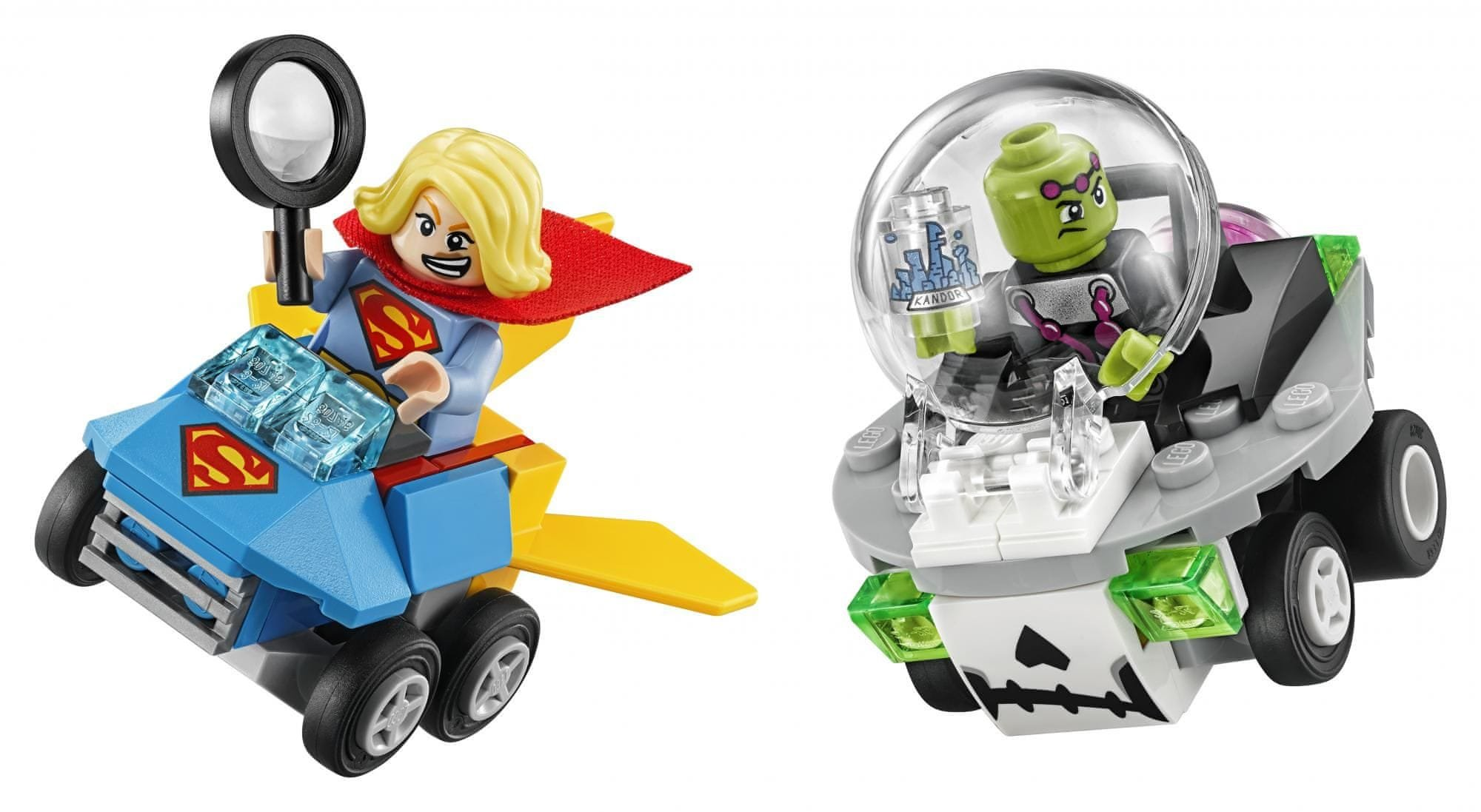 LEGO ® Super Heroes 76094 Mighty Micros: Supergirl™ vs. Brainiac™