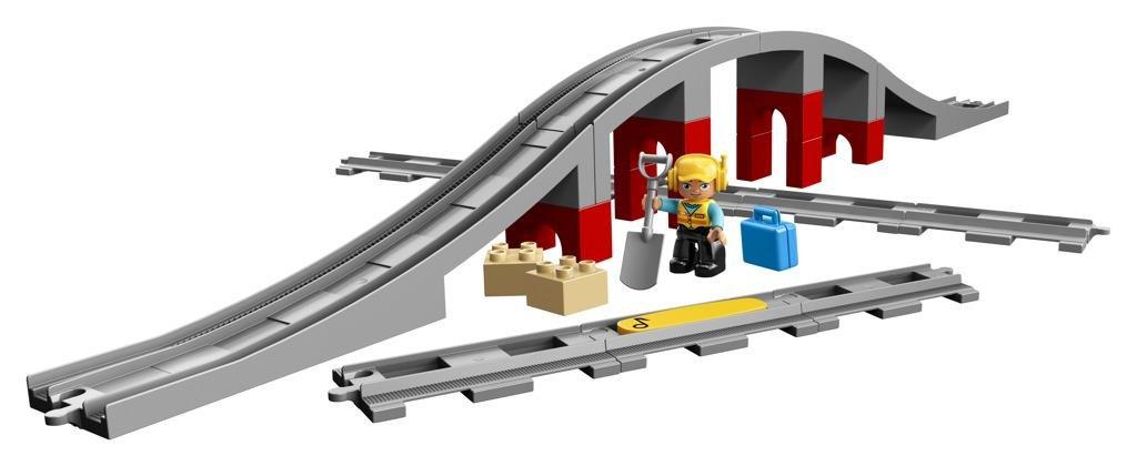 LEGO DUPLO ® 10872 Doplňky k vláčku – most a koleje