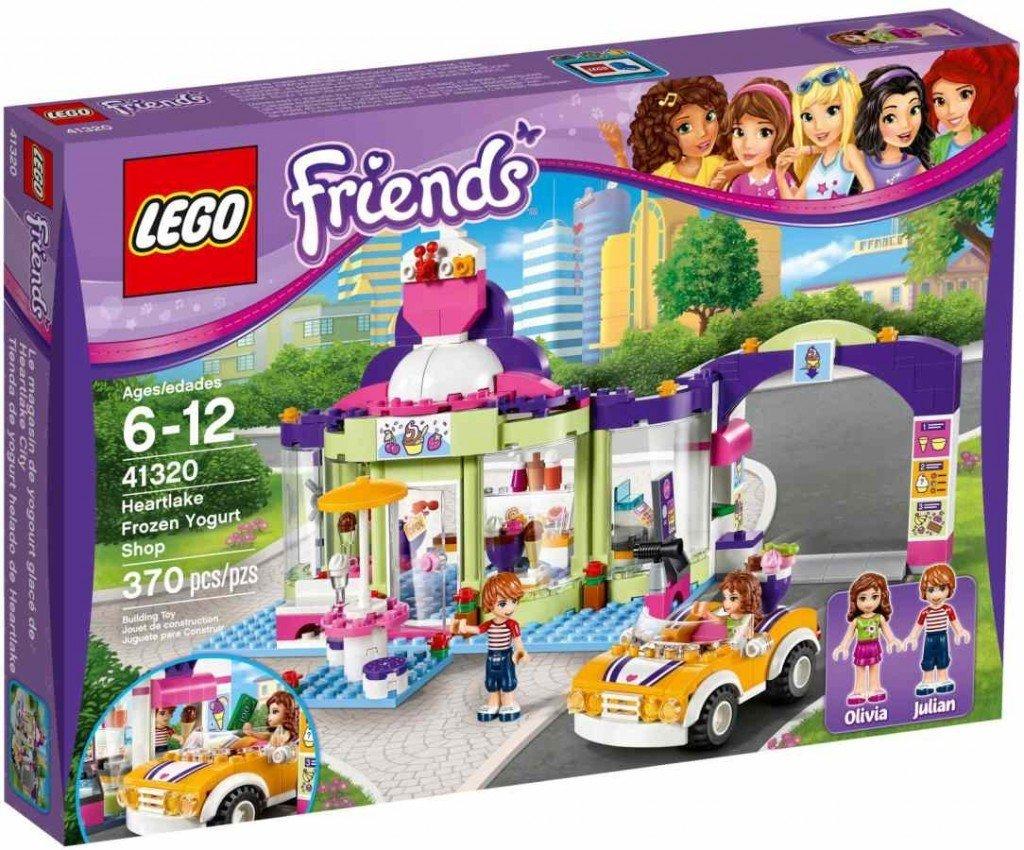 LEGO ® Friends 41320 Obchod se zmraženými jogurty v Heartlake