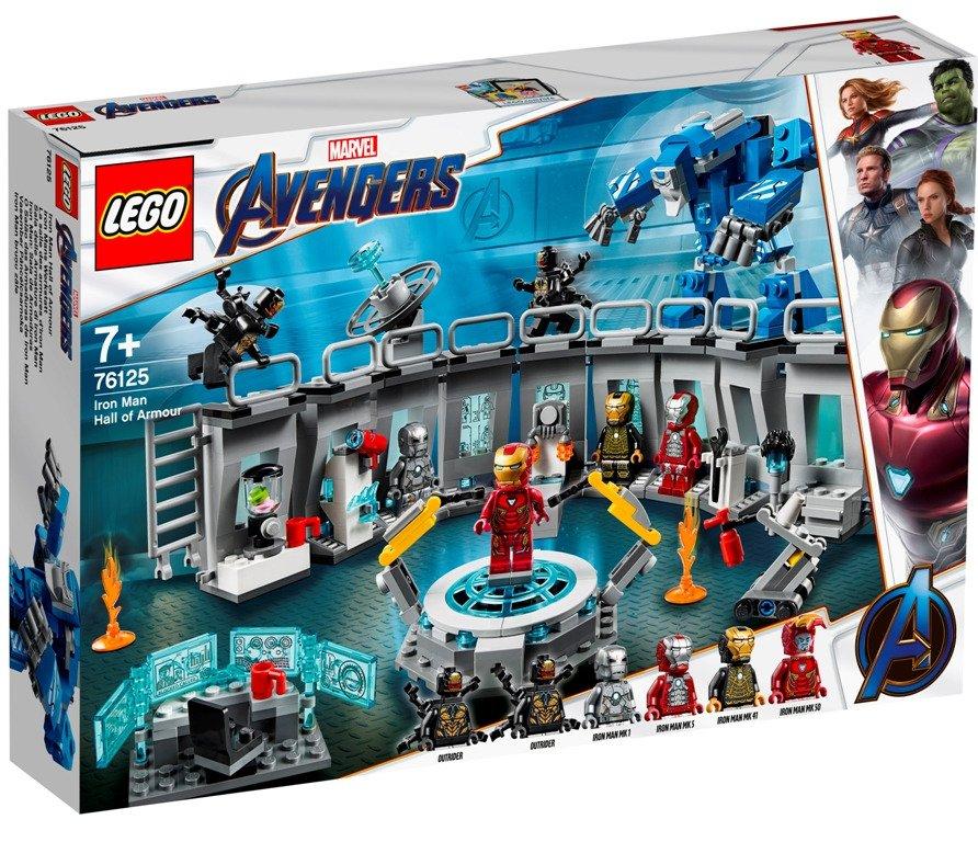 LEGO ® Super Heroes 76125 Iron Man a jeho obleky