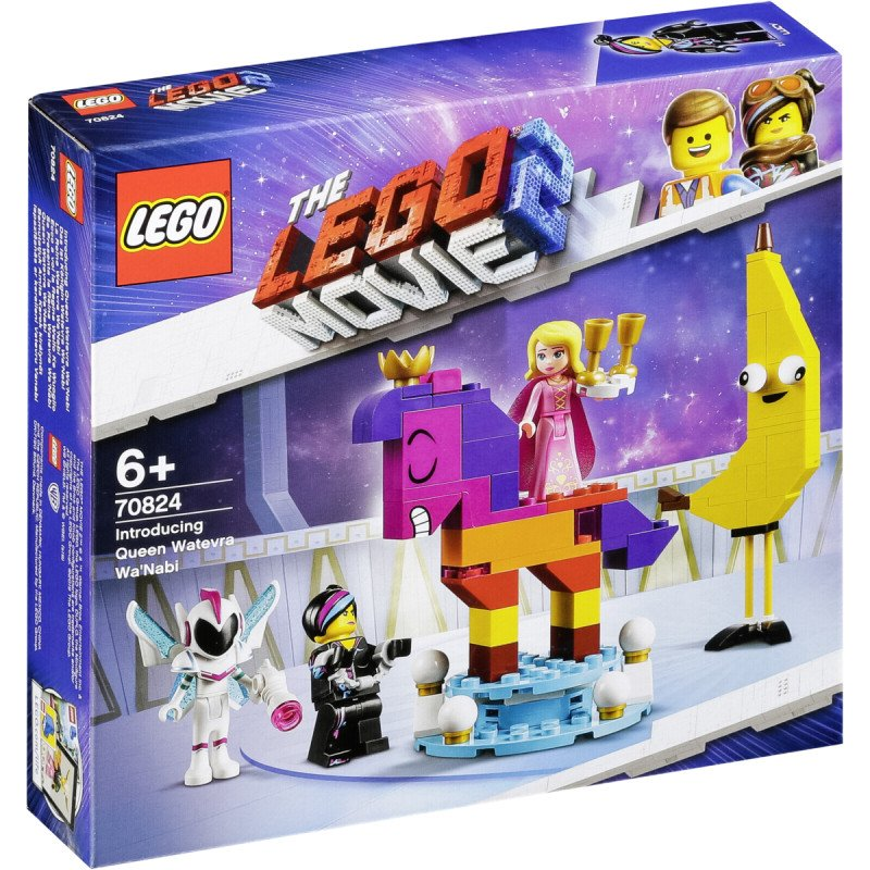 LEGO ® Movie 70824 Představujeme královnu Libovůli