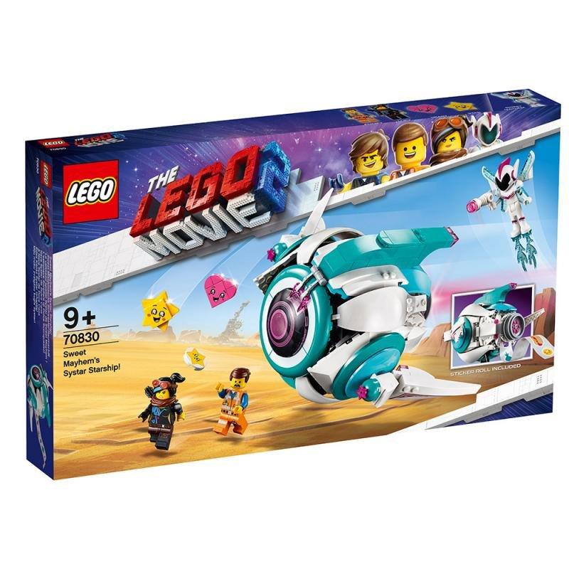 LEGO ® Movie 70830 Kosmická loď Systargenerálky Mely!
