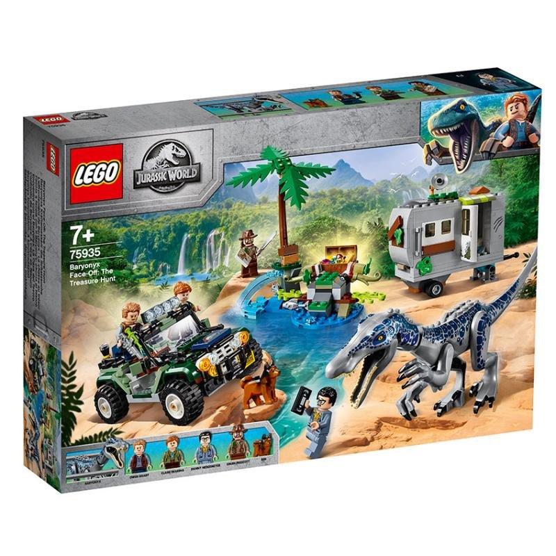 LEGO ® Jurassic World 75935 Setkání s Baryonyxem: Hon za pokladem