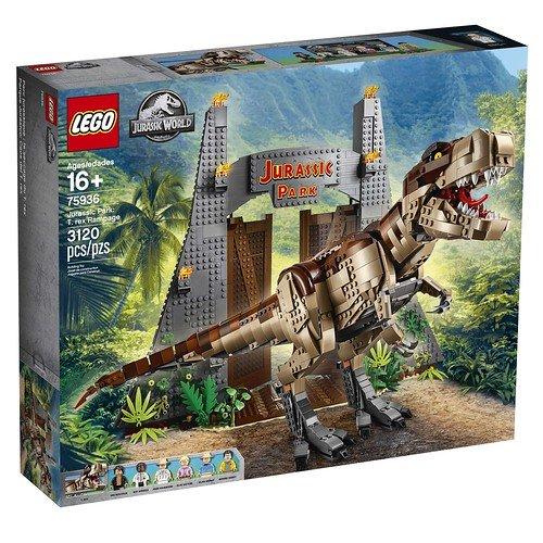 LEGO ® Jurassic World 75936 Řádění T-Rexe