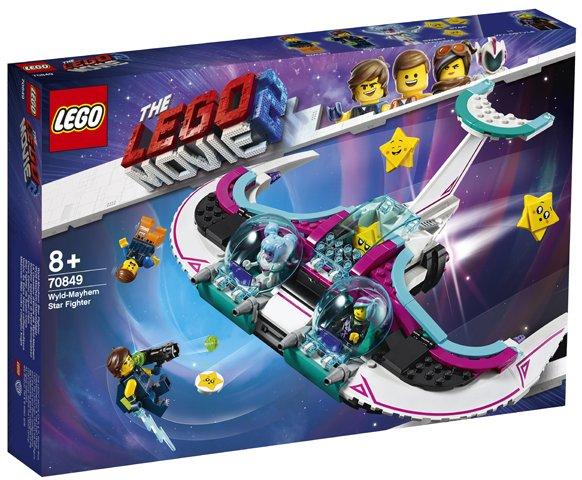 LEGO ® PŘÍBĚH 2 70849 Zdivočelá Mela a její stíhačka