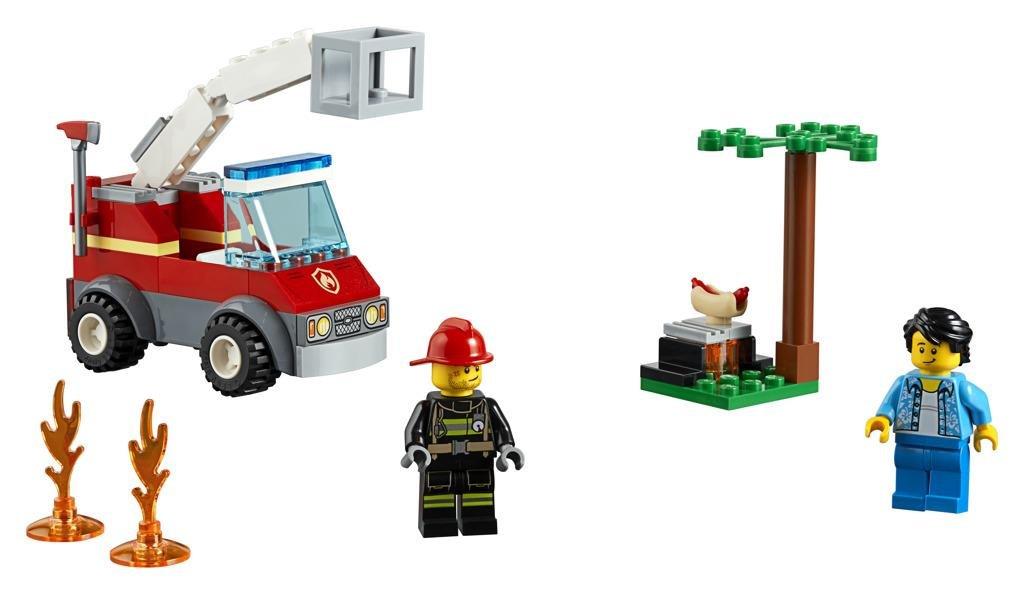 LEGO ® City 60212 Grilování a požár